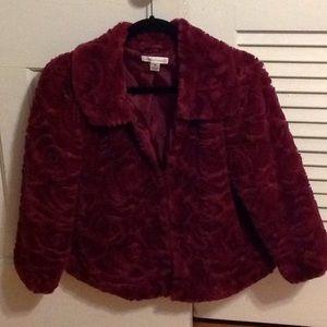 Maroon jacket size M